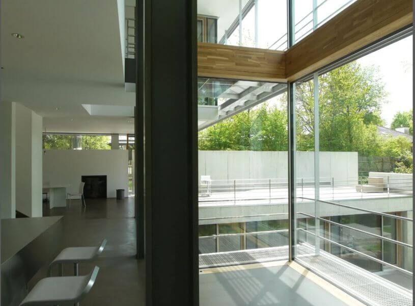 Referenzbild einer Kundenanlage - Villa mit Smarthome Ausstattung