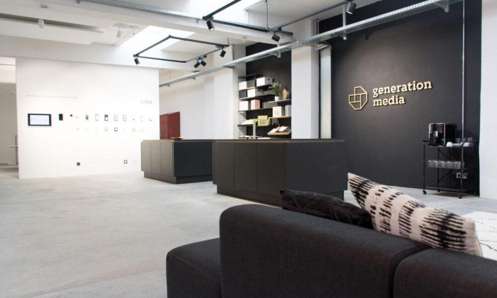 Showroom der Smarthome Werkstatt - Blick auf den Küchenbereich