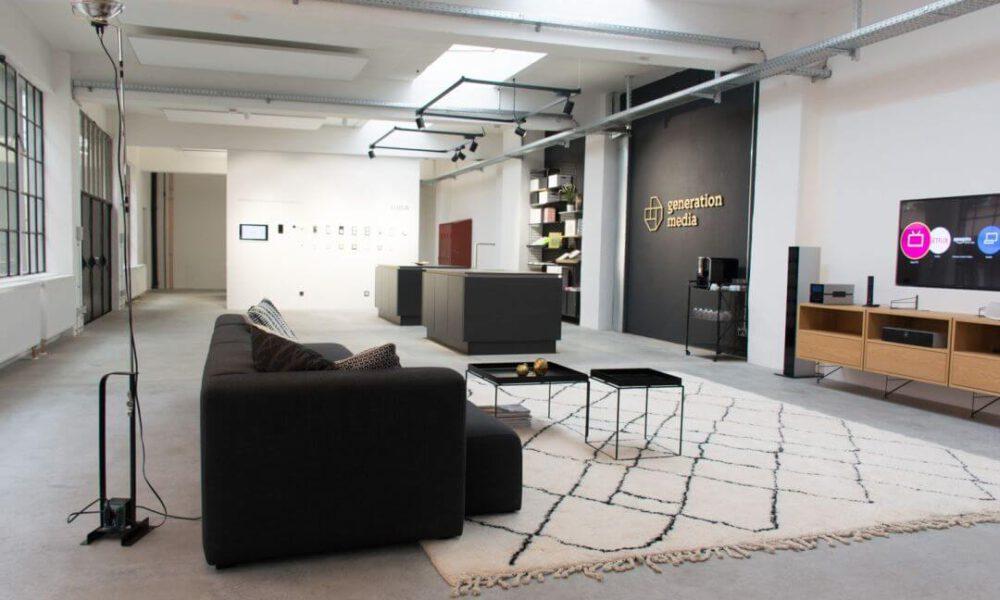 Showroom der Smarthome Werkstatt - Blick auf den kompletten Showroom