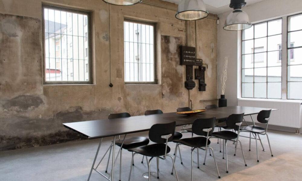 Showroom der Smarthome Werkstatt - Blick auf den Besprechungsbereich