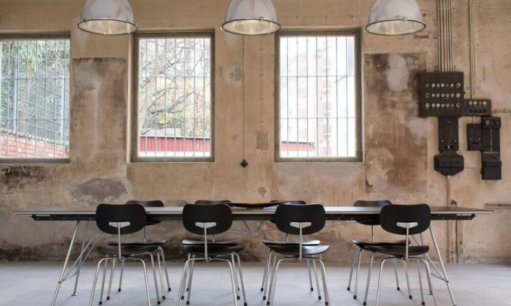 Showroom der Smarthome Werkstatt - Blick auf den Besprechungstisch